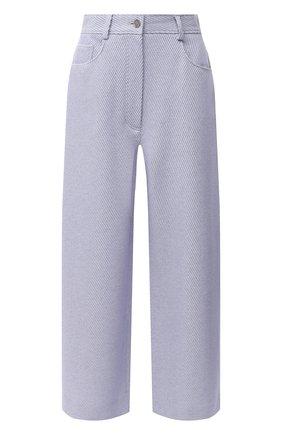 Женские шерстяные брюки ACNE STUDIOS сиреневого цвета, арт. AK0324 | Фото 1