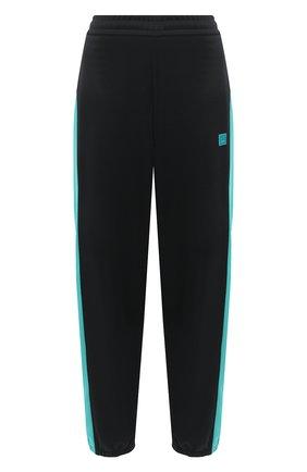Женские брюки ACNE STUDIOS черного цвета, арт. CK0018/W | Фото 1