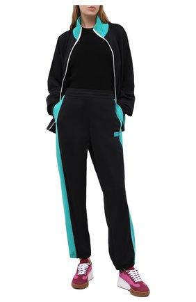 Женские брюки ACNE STUDIOS черного цвета, арт. CK0018/W | Фото 2