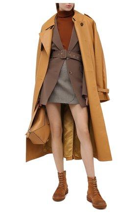 Женские замшевые ботинки MARSELL бежевого цвета, арт. MW2952/PELLE R0VESCI0 | Фото 2