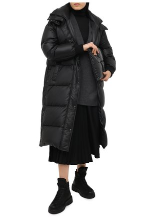 Женские замшевые ботинки MARSELL черного цвета, арт. MW5117/PELLE R0VESCI0 | Фото 2