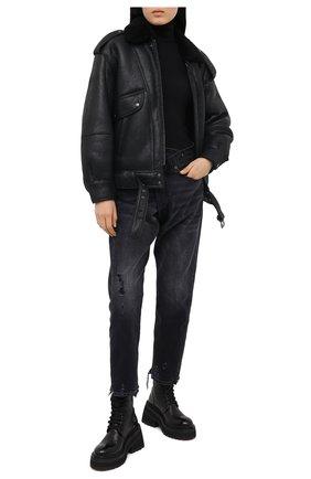 Женские кожаные ботинки MARSELL черного цвета, арт. MW5596/PELLE V0L0NATA | Фото 2