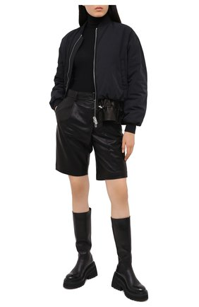 Женские кожаные сапоги MARSELL черного цвета, арт. MW6024/PELLE VITELL0 | Фото 2