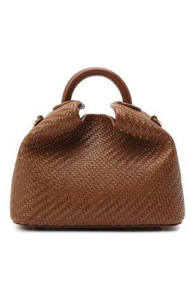 Женская сумка boazi ELLEME коричневого цвета, арт. BA0ZI/W0VEN LEATHER | Фото 1
