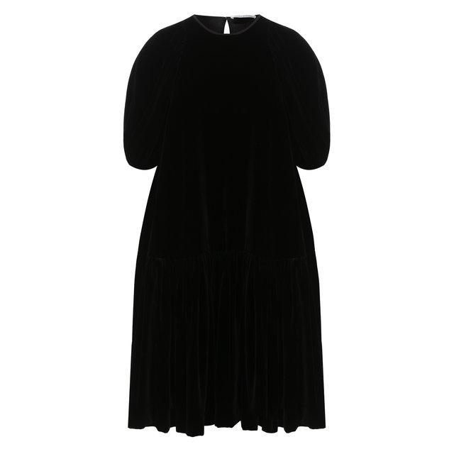 Платье из вискозы и шелка Cecilie Bahnsen