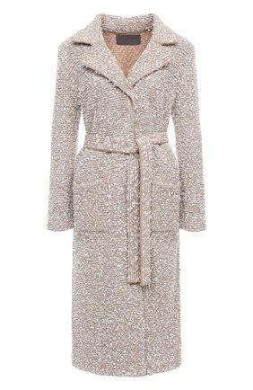 Женское пальто D.EXTERIOR бежевого цвета, арт. 51653 | Фото 1