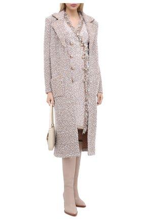 Женское пальто D.EXTERIOR бежевого цвета, арт. 51653 | Фото 2