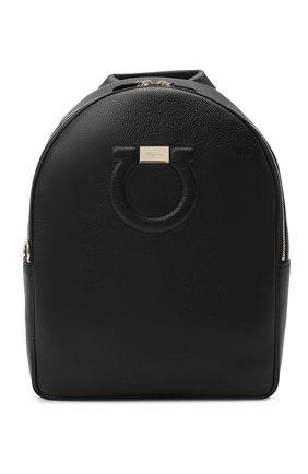 Женский рюкзак gancini SALVATORE FERRAGAMO черного цвета, арт. Z-0726260 | Фото 1