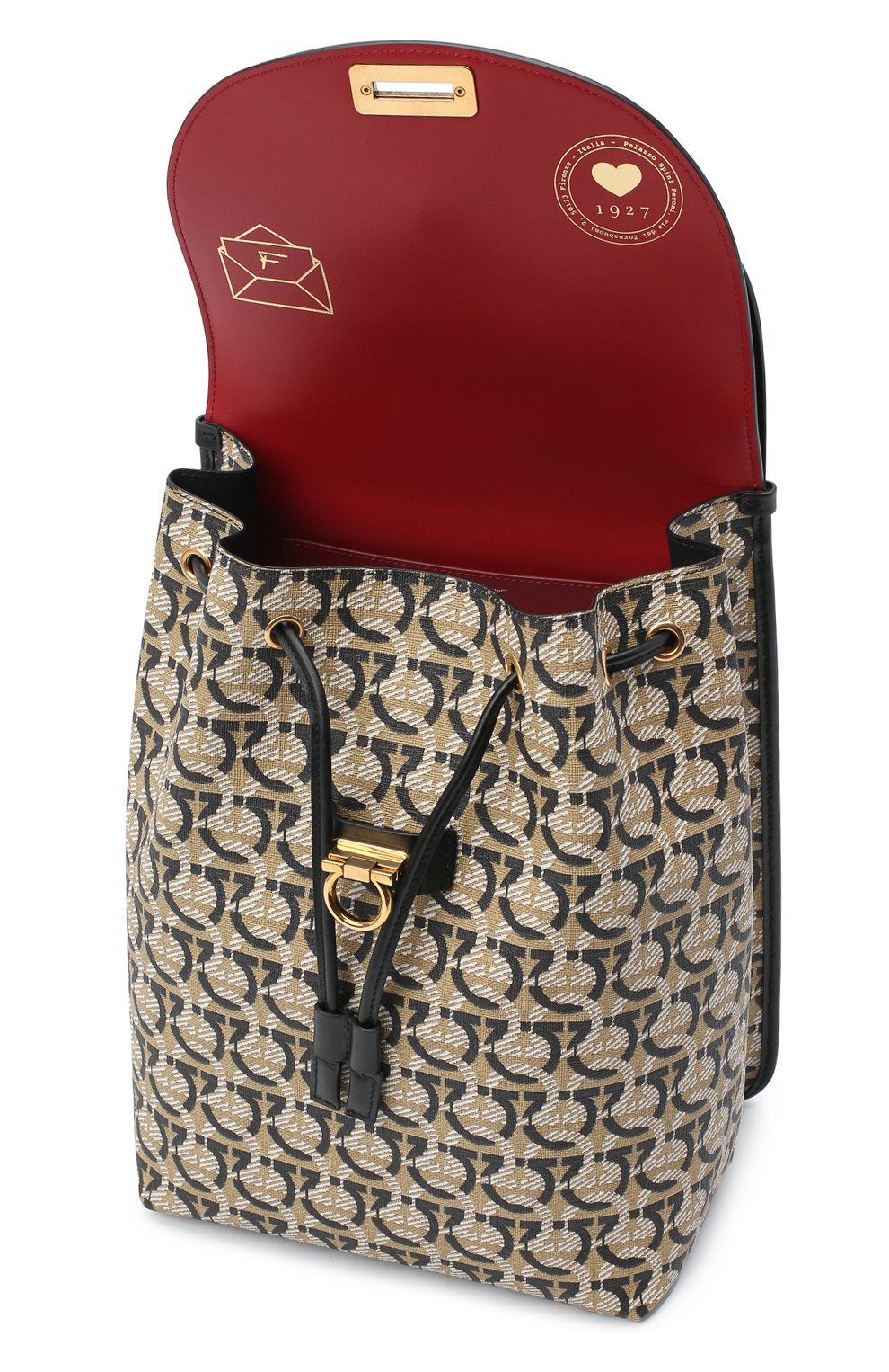 Женский рюкзак gancini SALVATORE FERRAGAMO разноцветного цвета, арт. Z-0726731 | Фото 4
