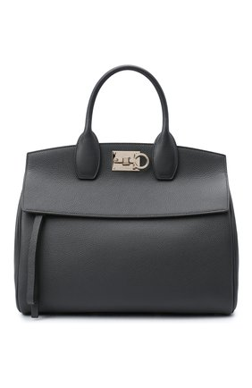 Женская сумка SALVATORE FERRAGAMO серого цвета, арт. Z-0737554   Фото 1