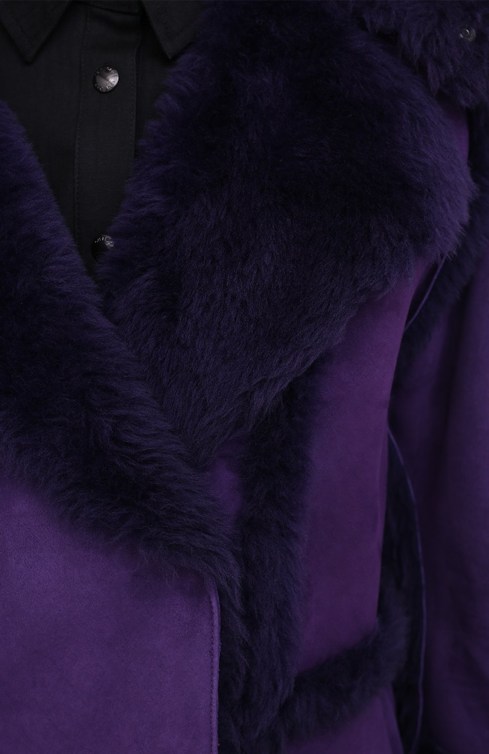 Женская дубленка TOM FORD фиолетового цвета, арт. CSF630-FUX120 | Фото 5