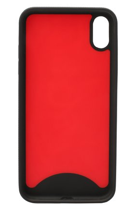 Мужской чехол для iphone xs max CHRISTIAN LOUBOUTIN красного цвета, арт. loubiphone sneakers case iphone xs max poly/metal | Фото 2