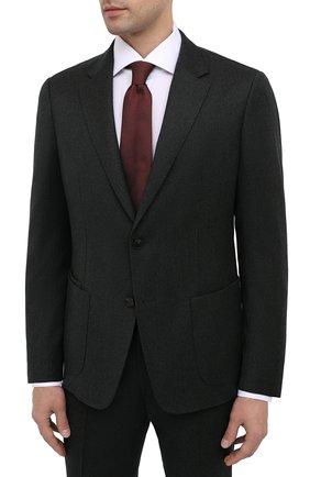 Мужской шерстяной костюм Z ZEGNA темно-зеленого цвета, арт. 824716/2X7YGX | Фото 2