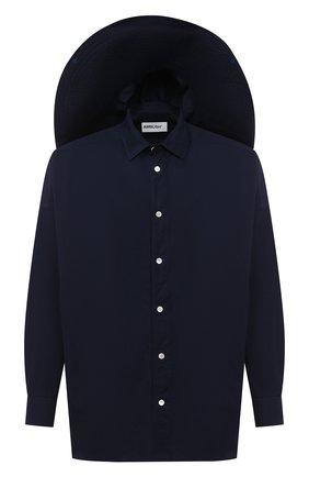 Мужская комплект из рубашки и шляпы AMBUSH темно-синего цвета, арт. BMGA001F20FAB001 | Фото 1