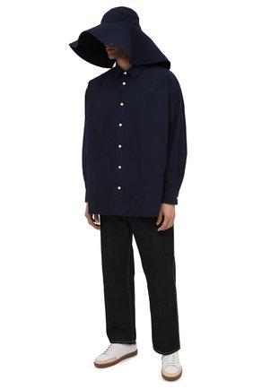 Мужская комплект из рубашки и шляпы AMBUSH темно-синего цвета, арт. BMGA001F20FAB001 | Фото 2