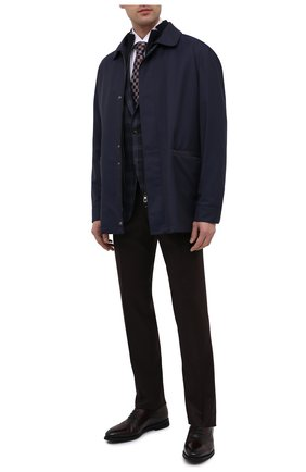 Мужские кожаные оксфорды BARRETT бордового цвета, арт. 192U090.7/BETIS CREAM   Фото 2