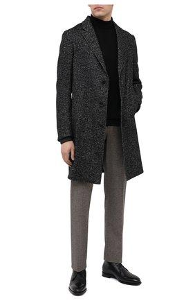 Мужские кожаные ботинки BARRETT черного цвета, арт. 202U007.8/C0RSAR0 | Фото 2
