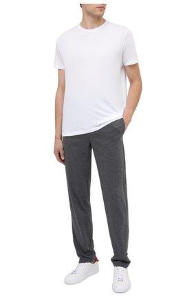 Мужская хлопковая футболка BLUEMINT белого цвета, арт. EDWARD | Фото 2