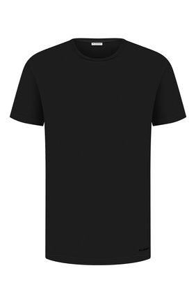 Мужская футболка из вискозы BLUEMINT темно-синего цвета, арт. ATIL | Фото 1
