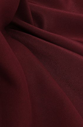 Мужской шелковый платок LANVIN бордового цвета, арт. 3803/HANDKERCHIEF | Фото 2