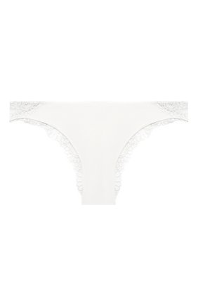 Женские трусы-слипы LA PERLA белого цвета, арт. 0050120 | Фото 1