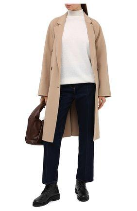 Женский пуловер PIETRO BRUNELLI белого цвета, арт. MAG007/WS0003 | Фото 2