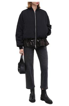Женские кожаные челси PERTINI черного цвета, арт. 202W30359C3 | Фото 2