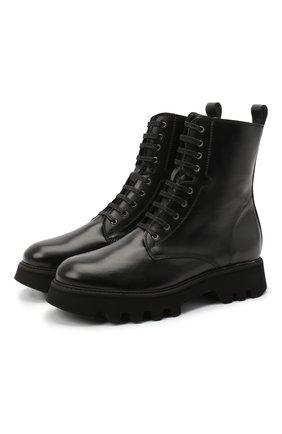 Женские кожаные ботинки PERTINI черного цвета, арт. 202W30461C6 | Фото 1