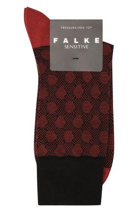 Мужские хлопковые носки FALKE красного цвета, арт. 12402 | Фото 1