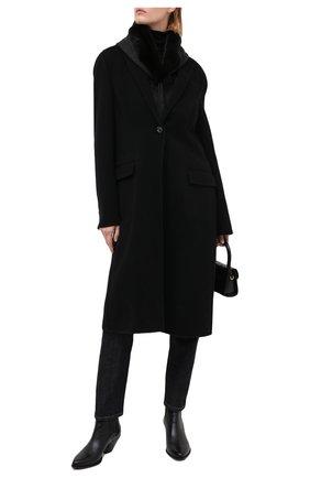 Женский капюшон KUSSENKOVV серого цвета, арт. 199302880602 | Фото 2