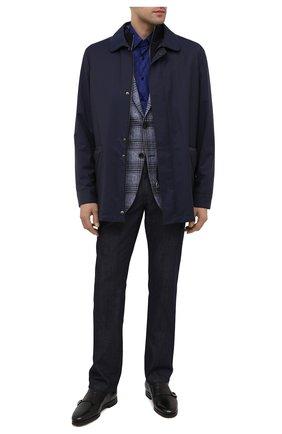 Мужские кожаные монки SANTONI черного цвета, арт. MCNC16737SI5AGTKN01 | Фото 2