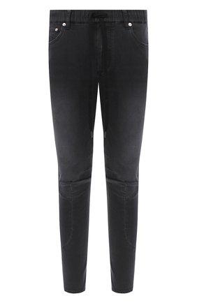 Мужские джинсы KAZUYUKI KUMAGAI черного цвета, арт. AP03-207 | Фото 1