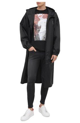 Мужские джинсы KAZUYUKI KUMAGAI черного цвета, арт. AP03-207 | Фото 2