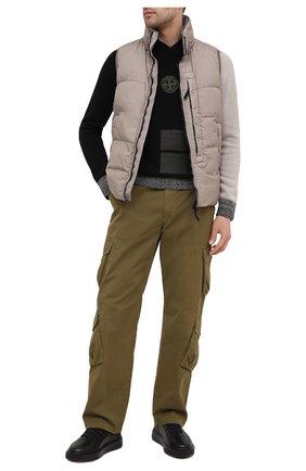 Мужские кожаные кеды FRANCESCHETTI черного цвета, арт. 2259003/2221 | Фото 2