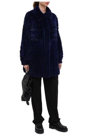 Женские кожаные ботинки VIC MATIE черного цвета, арт. 1Y5154D.Y10Y060101 | Фото 2