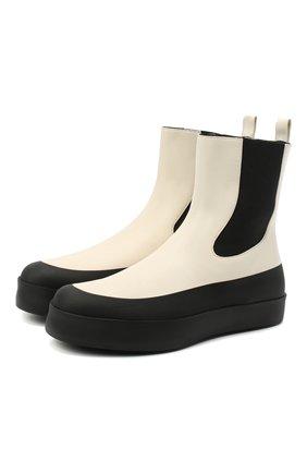 Женские кожаные челси NEOUS черно-белого цвета, арт. 00210A10EL01 | Фото 1