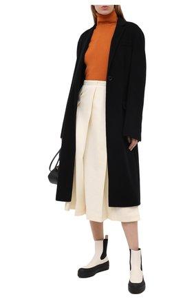 Женские кожаные челси NEOUS черно-белого цвета, арт. 00210A10EL01 | Фото 2