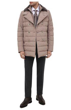 Мужские кожаные сапоги BARRETT темно-коричневого цвета, арт. 202U019.10/CERV0 ASP0RTABILE | Фото 2