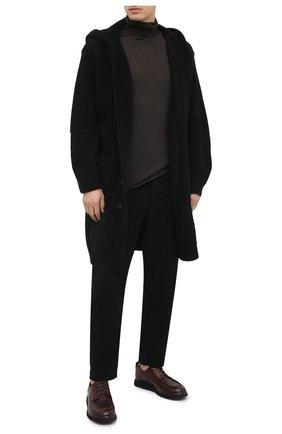 Мужские кожаные дерби ALEXANDER HOTTO темно-коричневого цвета, арт. 58039/RIDER TE | Фото 2