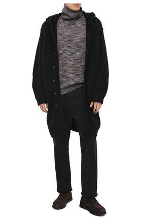 Мужские замшевые ботинки ALEXANDER HOTTO темно-коричневого цвета, арт. 58041/SENS0RY TE | Фото 2
