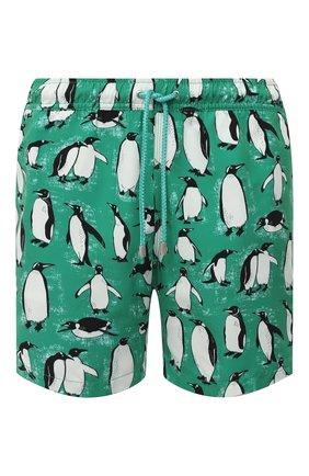 Мужские плавки-шорты BLUEMINT зеленого цвета, арт. ARTHUS | Фото 1