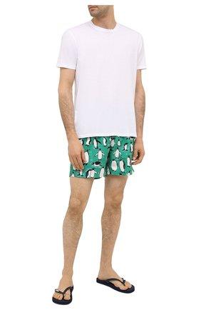 Мужские плавки-шорты BLUEMINT зеленого цвета, арт. ARTHUS | Фото 2