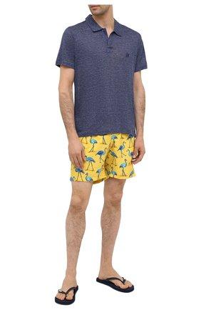 Мужские плавки-шорты BLUEMINT желтого цвета, арт. ARTHUS | Фото 2