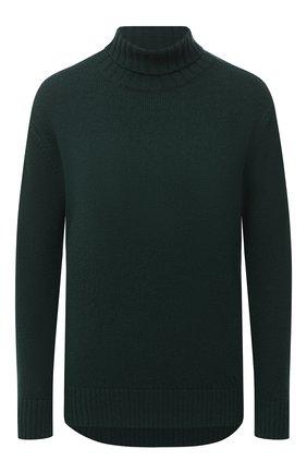 Женский шерстяной пуловер ALEXANDRA GOLOVANOFF зеленого цвета, арт. C0L R0ULE PIERRE | Фото 1