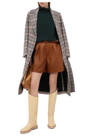 Женский шерстяной пуловер ALEXANDRA GOLOVANOFF зеленого цвета, арт. C0L R0ULE PIERRE | Фото 2
