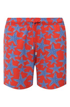 Мужские плавки-шорты BLUEMINT красного цвета, арт. ARTHUS STRETCH | Фото 1