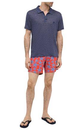 Мужские плавки-шорты BLUEMINT красного цвета, арт. ARTHUS STRETCH | Фото 2