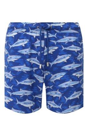 Мужские плавки-шорты BLUEMINT синего цвета, арт. ARTHUS STRETCH | Фото 1