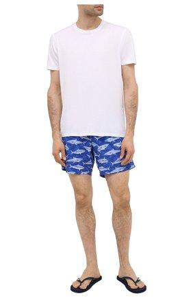Мужские плавки-шорты BLUEMINT синего цвета, арт. ARTHUS STRETCH | Фото 2