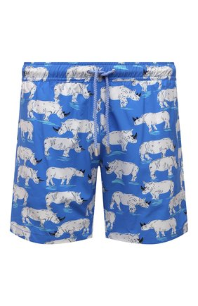 Мужские плавки-шорты BLUEMINT голубого цвета, арт. ARTHUS STRETCH | Фото 1